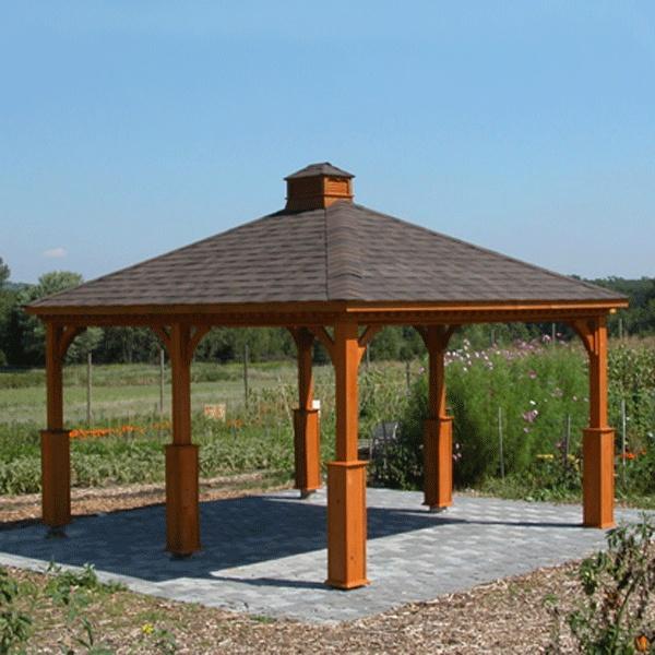 pavillion kit garden outdoor ideas tips pinterest