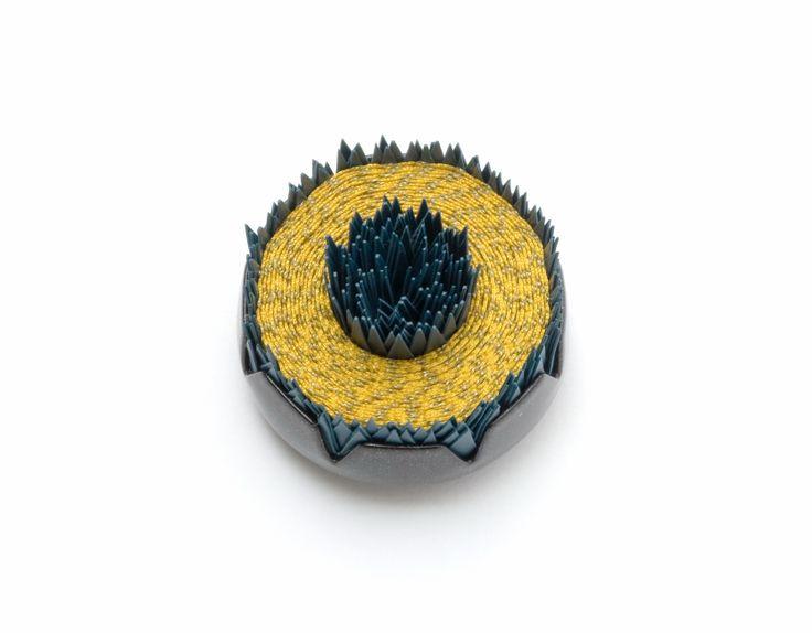 Speckled spiky brooch - Vicki  Mason - http://studio2017.com.au/