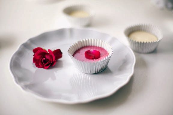 raspberry rose water cupcakes""