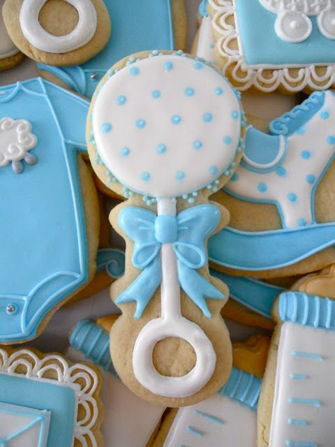 oh sugar events baby shower cookies pinterest