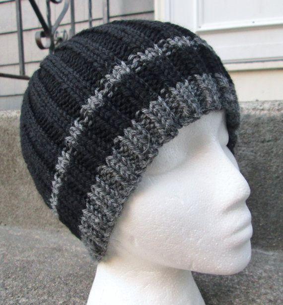 Mens Knit Hat, Wool
