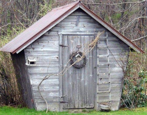 Rustic antique potting shed for Potting shed