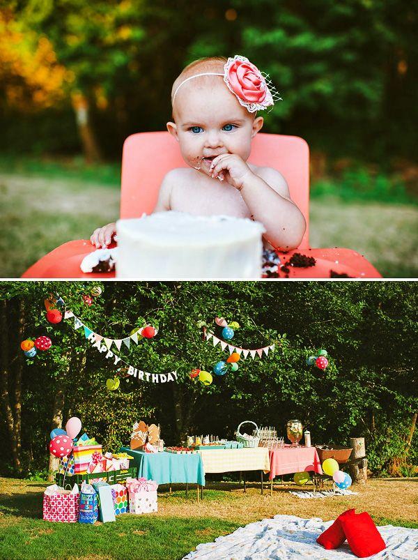 Fun Backyard Party Ideas : First Birthdays