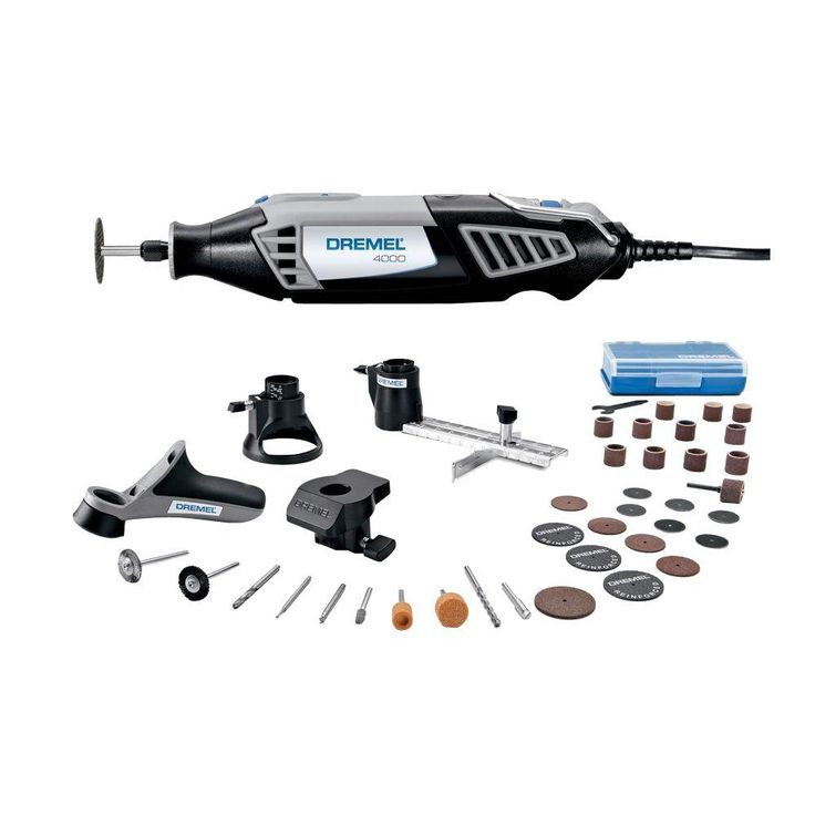 dremel 4000 series corded rotary tool kit 4000 4 36 at the home depot. Black Bedroom Furniture Sets. Home Design Ideas