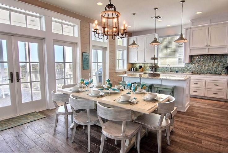 Dining room beach house pinterest for Shore house decor