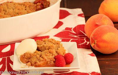 Bourbon Peach And Raspberry Crisp Recipes — Dishmaps