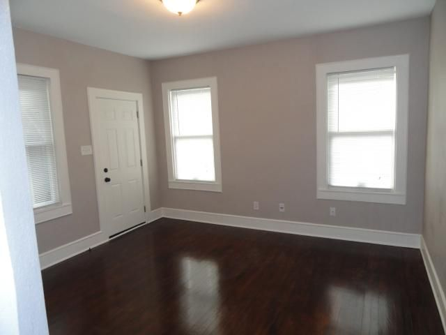 Dark Floors Grey Walls White Trim For The Home Pinterest