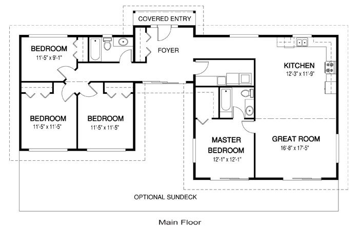 Nice Small House Floor Plan Live IN This Pinterest