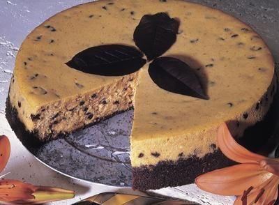 Pumpkin Chocolate Chip Cheesecake | I Love... | Pinterest