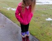 Child Crochet Boot Cuff