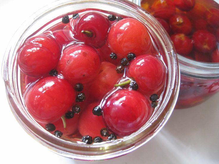 David Leibovitz Pickled Sour Cherries | Canning | Pinterest