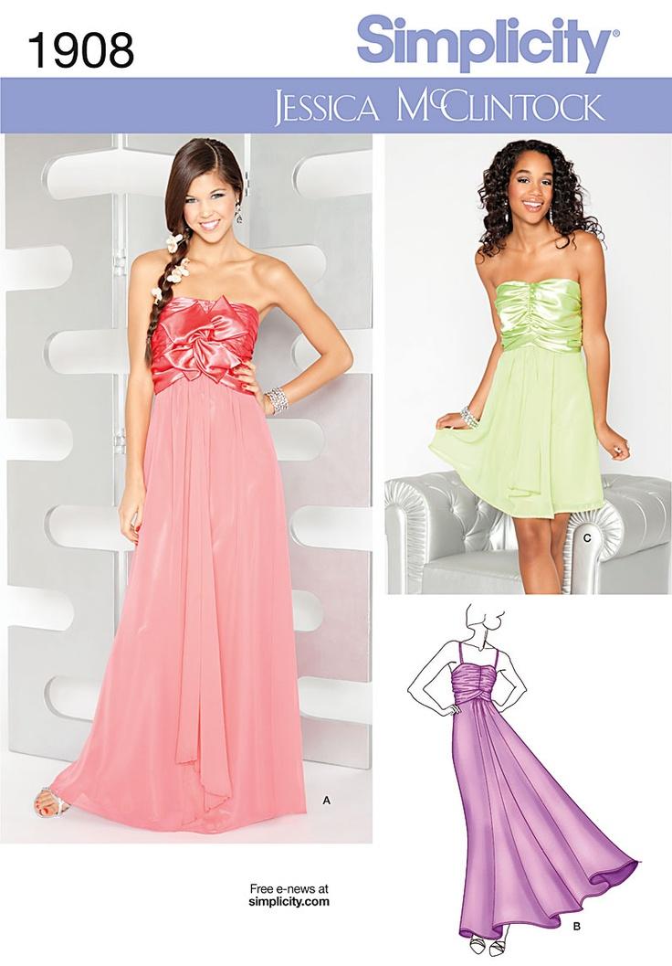 Prom Dress Sewing Patterns | Fashion Wallpaper