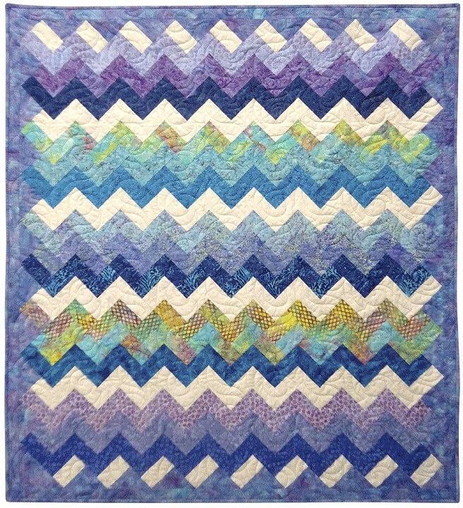 An Eleanor Burns pattern Quilts Zig Zag Pinterest