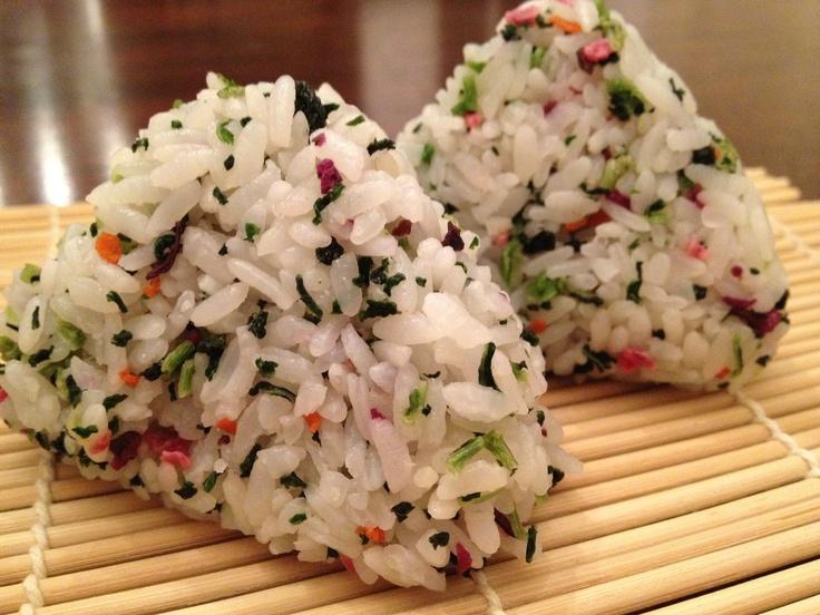 Japanese rice balls   Food   Pinterest