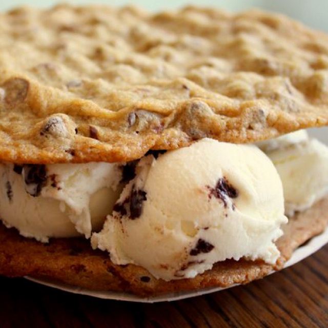 Chocolate-Chip Ice-Cream-Sandwich Cake With Butterscotch ...