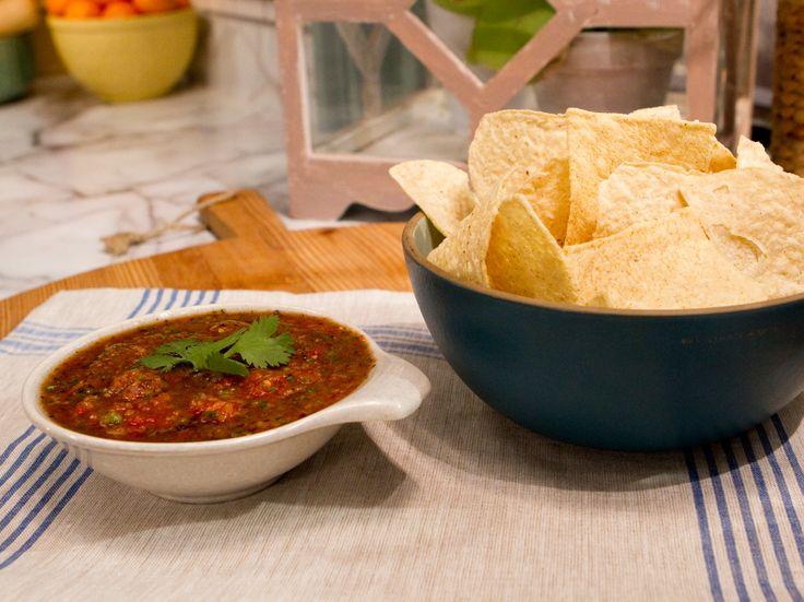 Roasted Tomato Salsa (Salsa Asada) Recipe : Marcela Valladolid : Food ...