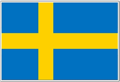 sweden flag colours