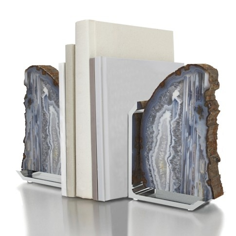 Agate Bookends Home Decor And Ideas Pinterest
