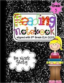 Teaching with Blonde Ambition: 4th Grade Reading Interactive Notebooks -- LOVE!!!