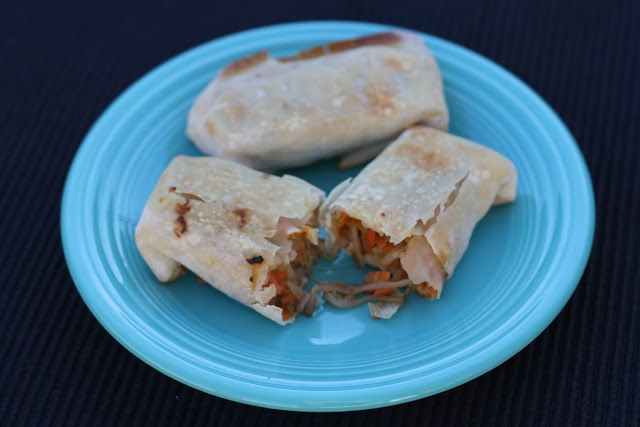 BAKED VEGETABLE EGG ROLLS | Favorite Recipes | Pinterest