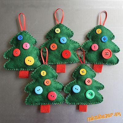 hviezdičky | Christmas ornaments | Pinterest