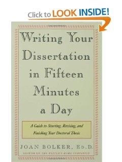 writing dissertation fifteen minutes