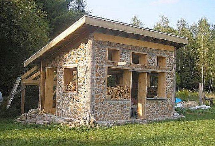 Cordwood construction for Cordwood homes