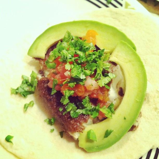 Fish tacos with crispy buckwheat-coated tilapia, fresh heirloom tomato ...