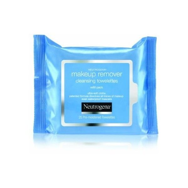 Neutrogena Makeup Remover Cleansing Towelettes, Refill Pack