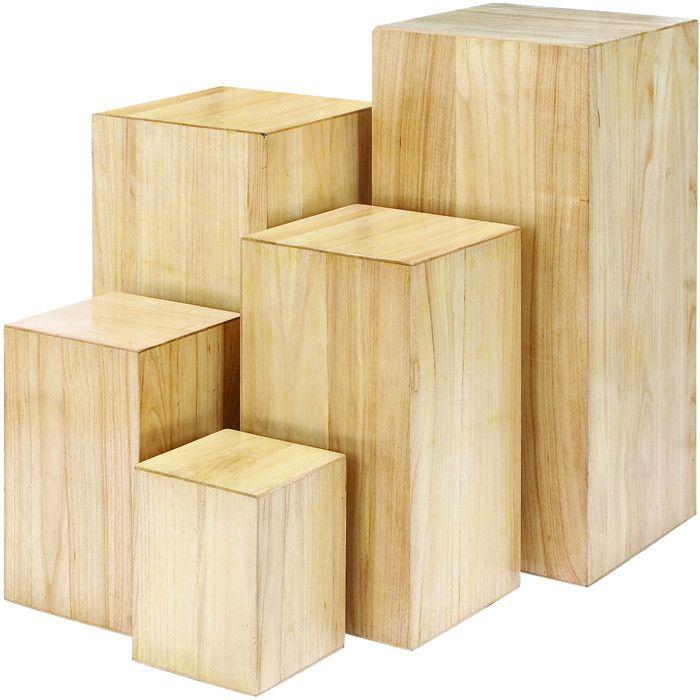 5 Piece Dockery Plant Stand Set Wood Pinterest