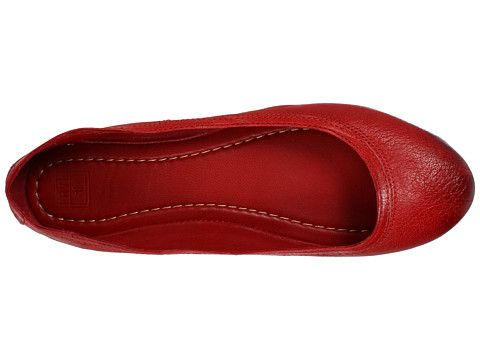 Frye Carson Ballet Burnt Red- but I ll take a pair in every color