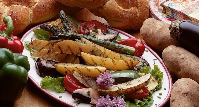 Grilled Idaho® Potato Ratatouille Salad | Recipe on idahopotato.com