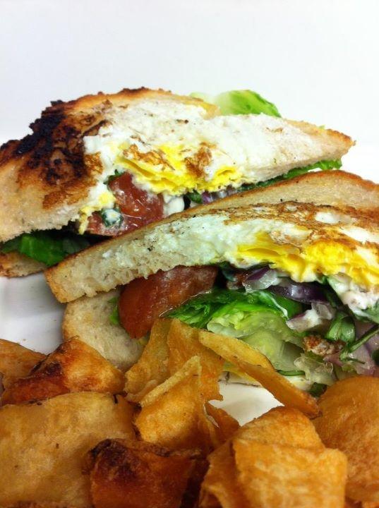 Eggs-in-a-Nest Sandwich | Food | Pinterest