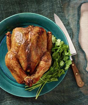 Moroccan Roasted Chicken: Season the chicken with a mixture of ground ...