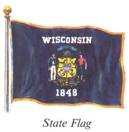 wisconsins state flag