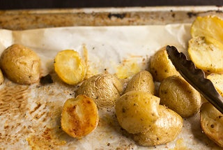 My Mom's Roasted Potatoes with Fennel Pollen