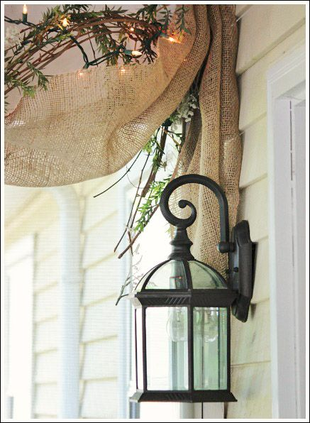 Decorating With Burlap Diy Home Decor Ideas Pinterest