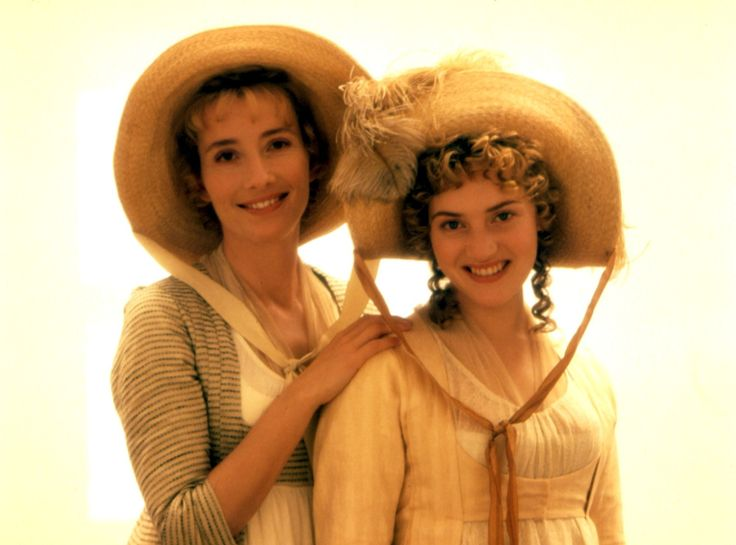 Emma Thompson and Kate Winslet as Elinor and Marianne Dashwood, respectively, in Ang Lee's 'Sense and Sensibility'.
