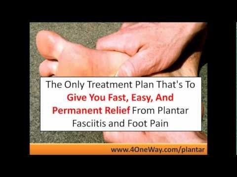 foot pain fasciitis plantar