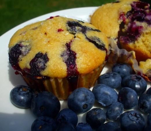 Blueberry Corn Muffins | Recipes | Pinterest