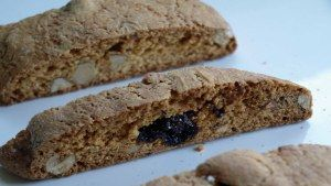 Cherry almond biscotti | Sweets | Pinterest
