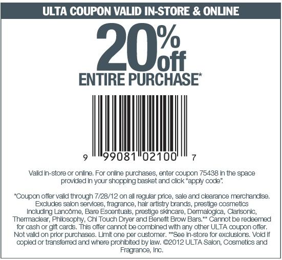 Ulta coupon printable 2016 coupons 2016