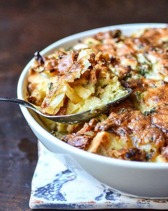 Ham And Cheese Breakfast Casserole Recipe — Dishmaps