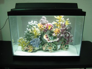Pin by dominick billiot on saltwater fish pinterest for Artificial coral reef aquarium decoration inserts