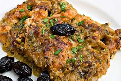 Roasted Butternut Squash and Onion Gratin