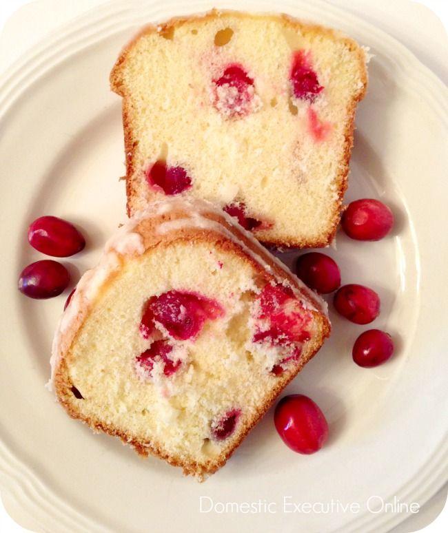 Mini Glazed Cranberry Orange Pound Cake – Good Cook Kitchen Experts ...