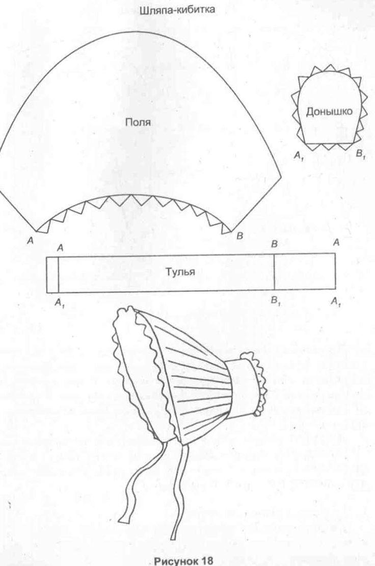 Как сделать капор из бумаги