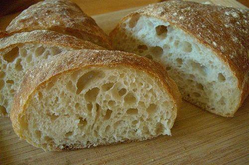 Quick ciabatta bread recipe | Food and Drink | Pinterest
