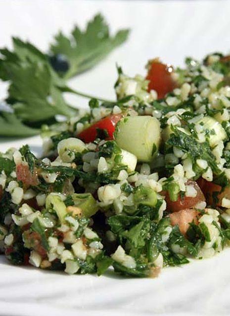 Lebanese Tabbouleh Salad | Salads...are good. | Pinterest