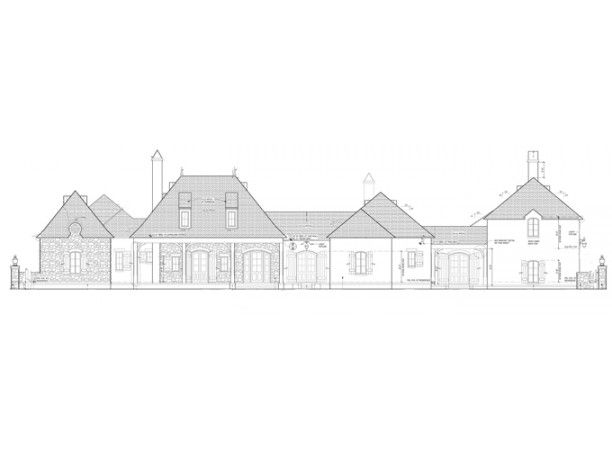 27 Front Elevation Drawing 4 Whittier State School